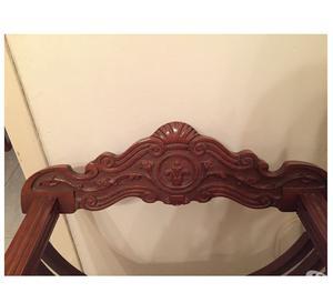 Sedia savonarola anni 40 legno massello braccioli posot - Sedia savonarola ...
