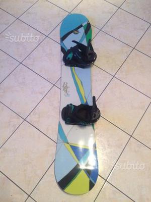 Snowboard e scarponi Burton