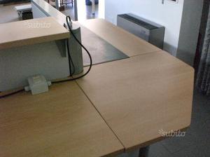 Reception per ufficio occasione posot class for Banco ufficio