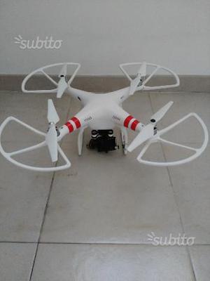 Drone DJI PHANTOM 2-Gimbal Zenmuse + GOPRO HERO 3+