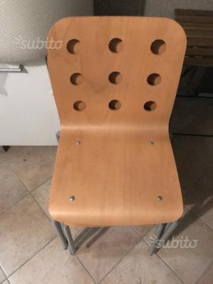N 4 sedie rosse tipo jules ikea  Posot Class