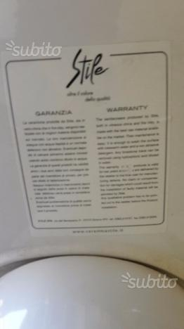 Lavabo con Colonna marca STILE