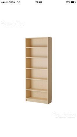 Libreria ikea modello billy colore bologna posot class - Billy ikea misure ...