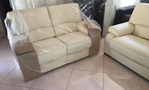 Coppia divani in pelle della ditta paolo colombo | Posot Class