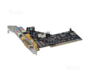 Nilox PCI-AUD6 Scheda Audio 6 canali