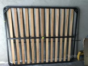 Rete nuova pieghevole con doghe in legno posot class - Rete letto legno ...