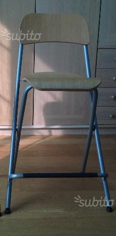 Ikea franklin sgabello pieghevole posot class for Sedia pieghevole ikea