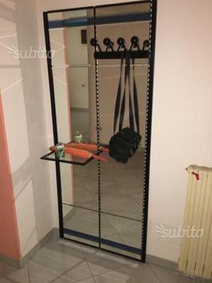 Specchio attaccapanni posot class for Ikea portaombrelli