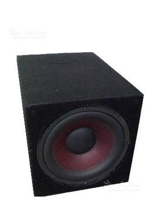 Subwoofer dragster 500w rms bassi potenti perfetto