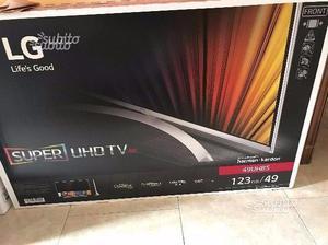 "TV LED 49"" Super Ultra HD 4K HDR Smart TV 3D Slim"