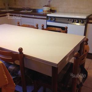 Tavolo allungabile sedie cucina stosa osaka sandy posot - Tavolo allungabile con sedie ...