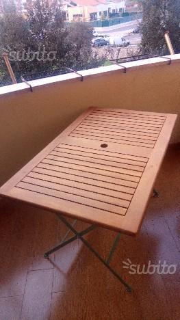 Tavolo + sedie da esterno