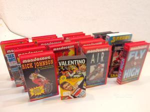 VHS videocassette MONDOCORSE originali, in blocco