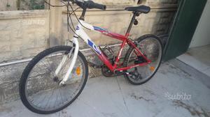 "Bici MTB 24"" Scoppia ma funzionante"