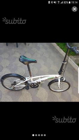Bici pieghevole olympia zip borsa trasporto posot class for Bici pieghevole milano