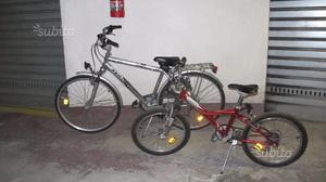 Bicicletta Uomo Alluminio + Bicicletta Ragazzo