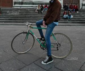 """Ruote bicicletta corsa cerchi 28"""" copertoncino"""