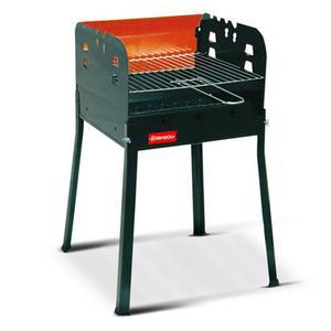 Barbecue A Carbone Carbonella Con Griglia Regolabile 35x35cm