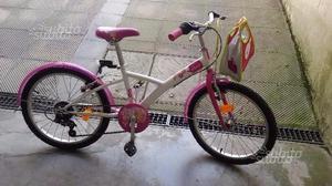 Bicicletta bambina ruote 20' Decathlon Btwin