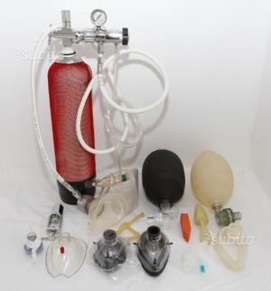 KIT Ossigeno DAN con valigia