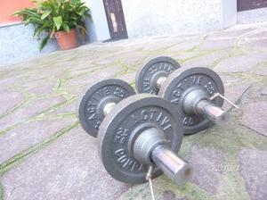Manubri con pesi