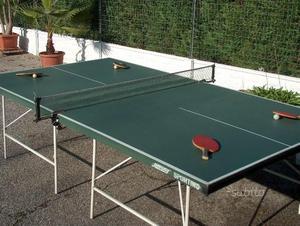 Tavolo tavolino ping pong regolamentare esterno posot class - Misure tavolo ping pong regolamentare ...