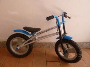 Bicicletta bimbo senza ruote