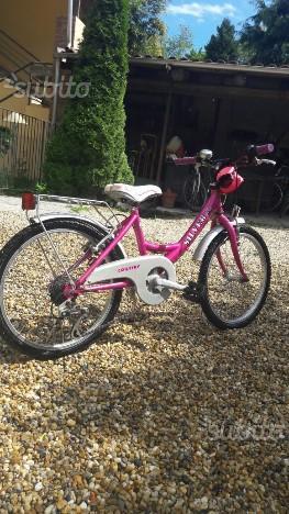 Bicicletta silver star per bambina