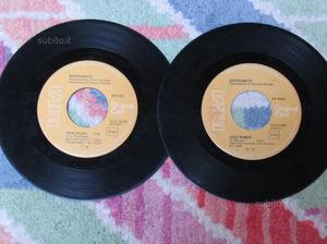2 dischi 45'' giri superobots rca records