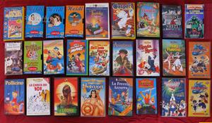 67 vhs cartoni Walt Disney e film vari