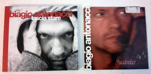 BIAGIO ANTONACCI cd's promo radio ORIGINALI