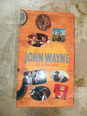 Cofanetto 4 VHS John Wayne Collection