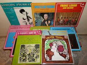 LOTTO di 10 LP / 33 giri di Classica, Operetta