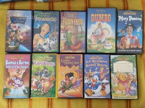 Lotto 47 Cartoni animati VHS Walt Disney e altro