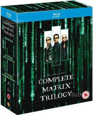 Matrix Reloaded cofanetto bluray