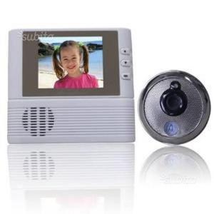 Telecamera spioncino per porta blindata con posot class - Paletto porta blindata ...