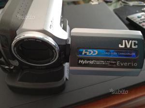 Telecamera jvc con hdd30gb e sd in perfetto stato