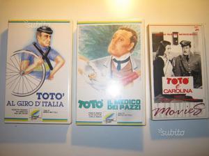 Videocassette VHS TOTO' vintage