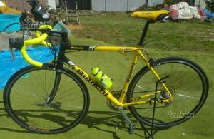 Bici da corsa bianchi bdc forcella carbonio