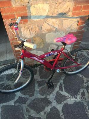 Bicicletta mountan bike da bambina