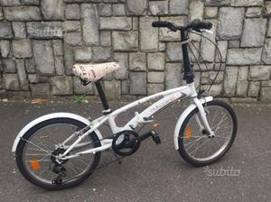 Bicicletta pieghevole praticamente NUOVA