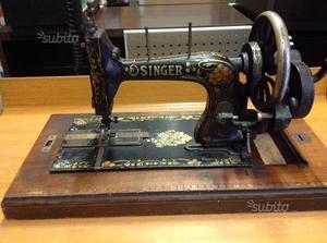 Vendo macchina da cucire singer anni 40 supporto posot class for Vendo macchina da cucire
