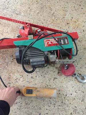 Braccio orientabile per paranco elettrico kg posot class for Paranco elettrico usato