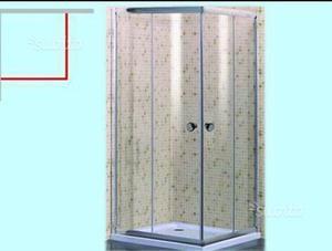 BOX DOCCIA 80x80 TRASPARENTE
