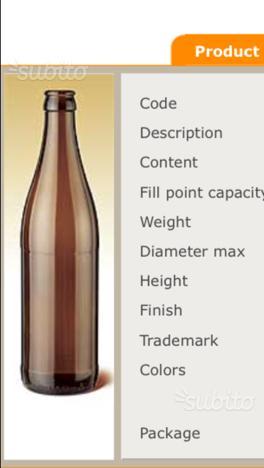 Vecchie bottiglie birra cervisia genova posot class for Cerco cose vecchie in regalo