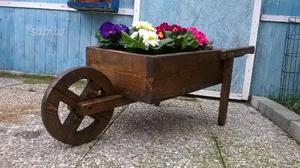 Arco arcata giardino fiori tutta italia posot class - Carriola in legno da giardino ...