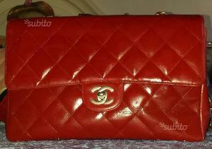 Chanel 2.55 rossa vintage originale