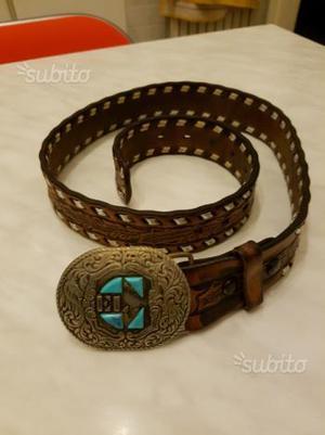93aee7ab3d Cintura el charro anni  80 con turchese vero orig