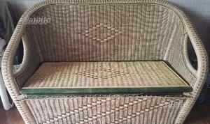 Divanetto panca contenitore in legno  Posot Class