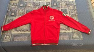 Felpa Croce Rossa taglia XS originale